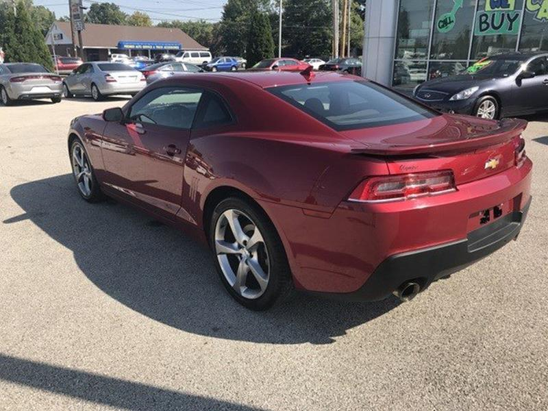 2014 Chevrolet Camaro for sale at OLYMPIC MOTOR CO in Florissant MO