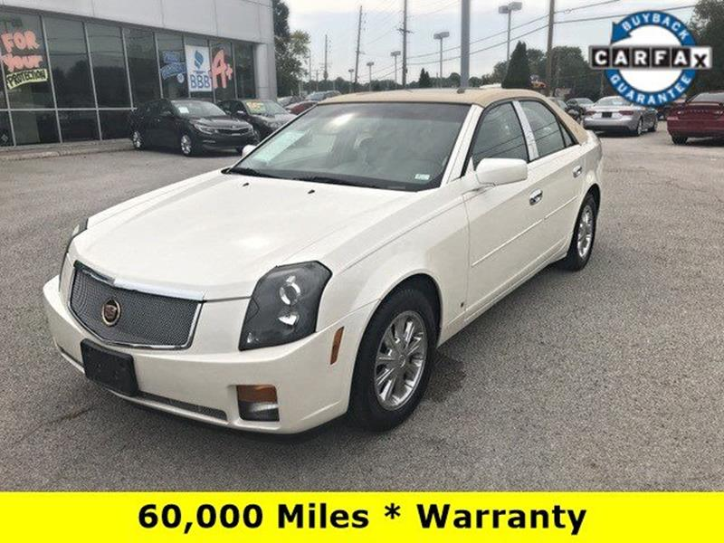 2007 Cadillac CTS for sale at OLYMPIC MOTOR CO in Florissant MO