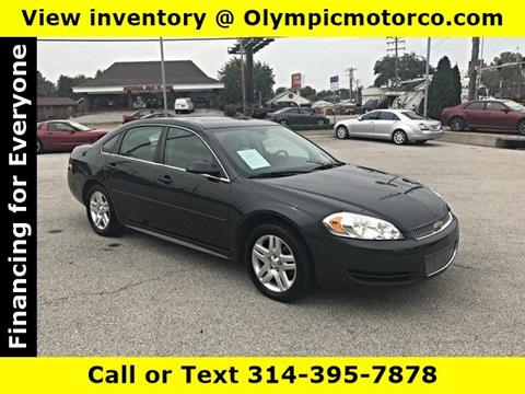 2015 Chevrolet Impala Limited for sale at OLYMPIC MOTOR CO in Florissant MO