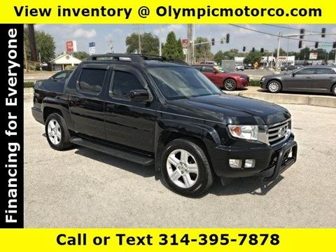 2013 Honda Ridgeline for sale at OLYMPIC MOTOR CO in Florissant MO
