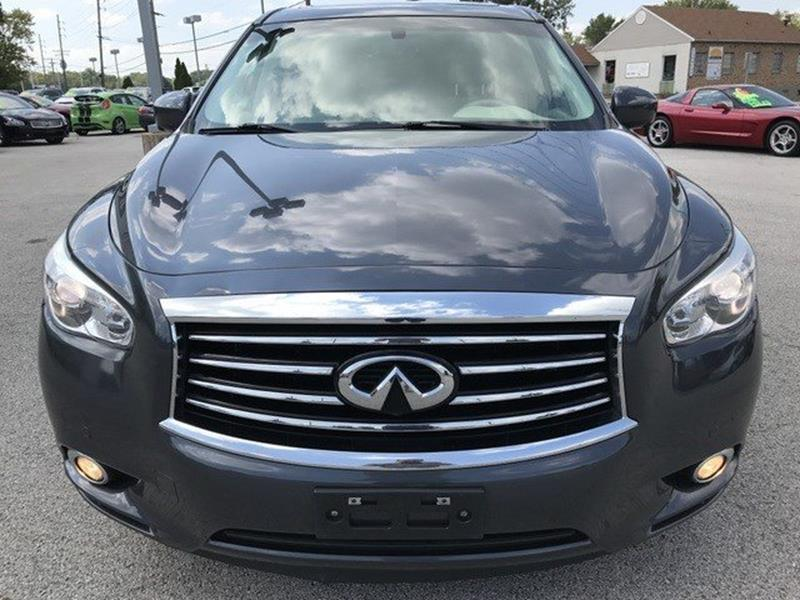 2013 Infiniti JX35 for sale at OLYMPIC MOTOR CO in Florissant MO