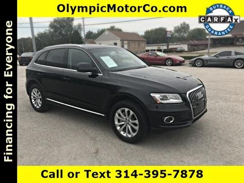 2013 Audi Q5 for sale at OLYMPIC MOTOR CO in Florissant MO
