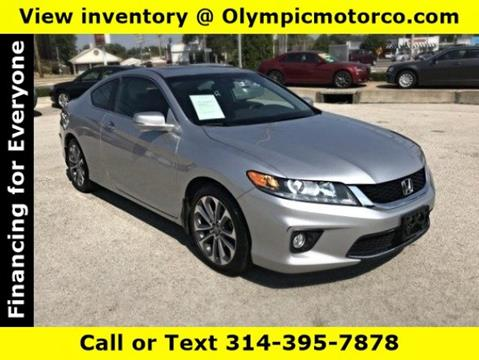 2013 Honda Accord for sale at OLYMPIC MOTOR CO in Florissant MO