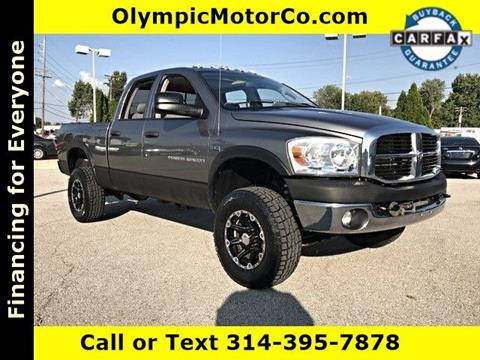 2009 Dodge Ram Pickup 2500 for sale at OLYMPIC MOTOR CO in Florissant MO