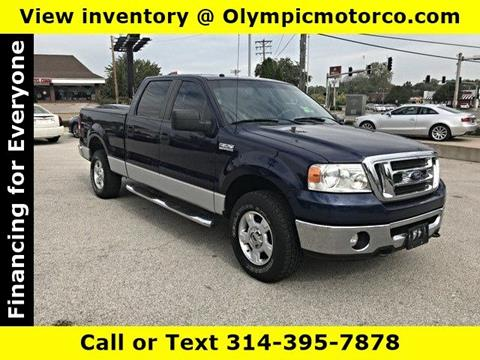 2008 Ford F-150 for sale at OLYMPIC MOTOR CO in Florissant MO