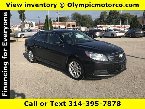 2013 Chevrolet Malibu for sale at OLYMPIC MOTOR CO in Florissant MO