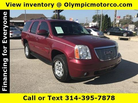 2007 GMC Yukon for sale at OLYMPIC MOTOR CO in Florissant MO