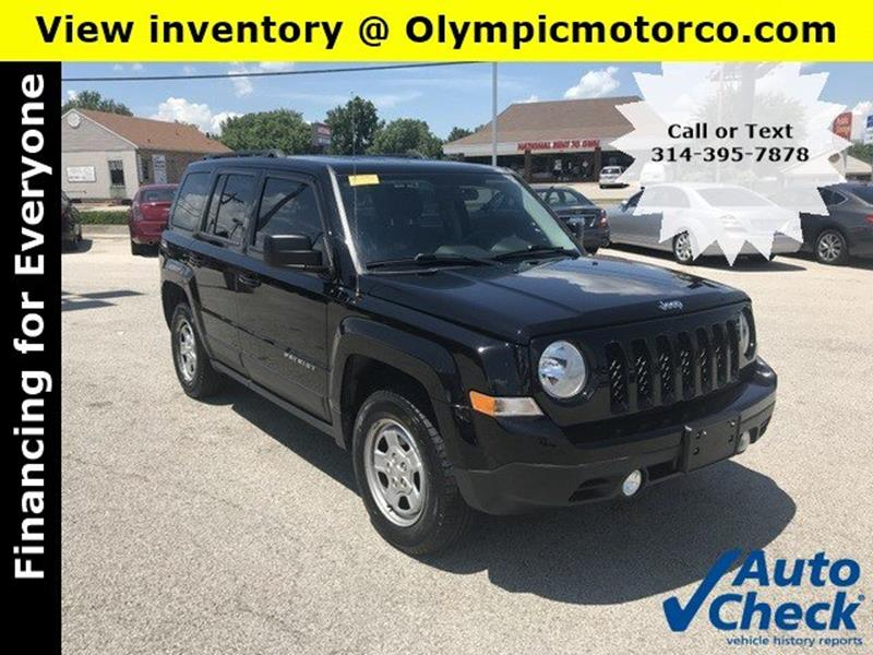 2015 Jeep Patriot Altitude Edition In Florissant Mo Olympic Motor Co