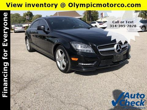 2013 Mercedes-Benz CLS for sale in Florissant, MO