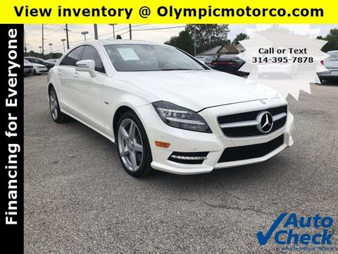 2012 Mercedes-Benz CLS for sale in Florissant, MO