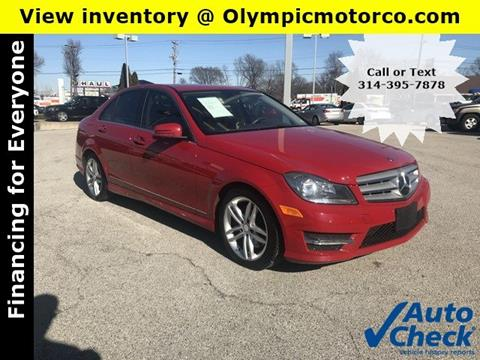 2013 Mercedes-Benz C-Class for sale in Florissant, MO