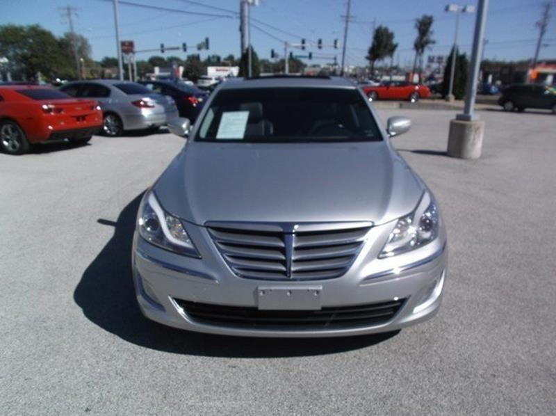 2013 Hyundai Genesis for sale at OLYMPIC MOTOR CO in Florissant MO