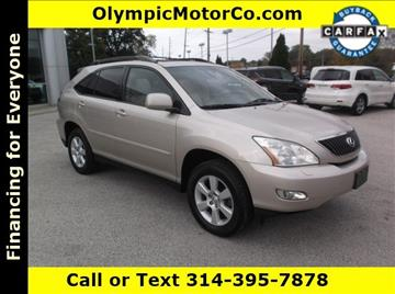 2007 Lexus RX 350 for sale at OLYMPIC MOTOR CO in Florissant MO