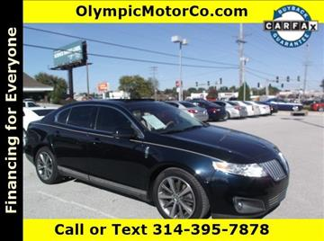2009 Lincoln MKS for sale at OLYMPIC MOTOR CO in Florissant MO