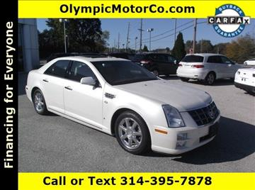 2008 Cadillac STS for sale at OLYMPIC MOTOR CO in Florissant MO