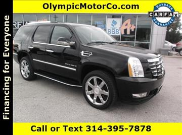 2008 Cadillac Escalade for sale at OLYMPIC MOTOR CO in Florissant MO
