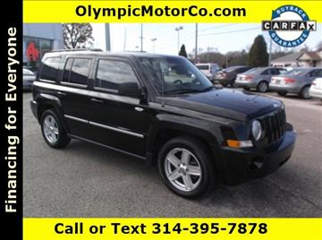 2010 Jeep Patriot for sale at OLYMPIC MOTOR CO in Florissant MO
