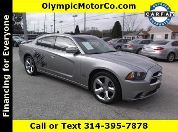 2011 Dodge Charger for sale at OLYMPIC MOTOR CO in Florissant MO