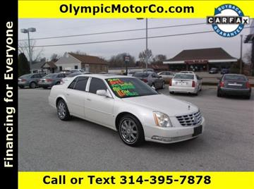 2008 Cadillac DTS for sale at OLYMPIC MOTOR CO in Florissant MO