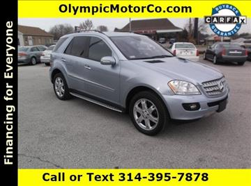 2007 Mercedes-Benz M-Class for sale at OLYMPIC MOTOR CO in Florissant MO