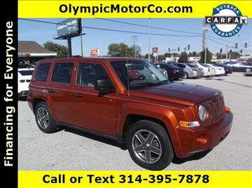 2008 Jeep Patriot for sale at OLYMPIC MOTOR CO in Florissant MO