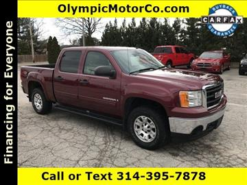 2008 GMC Sierra 1500 for sale at OLYMPIC MOTOR CO in Florissant MO