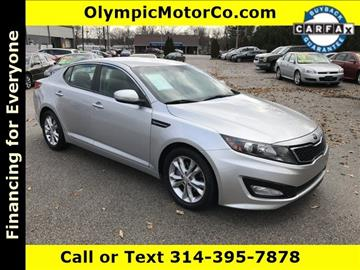 2013 Kia Optima for sale at OLYMPIC MOTOR CO in Florissant MO