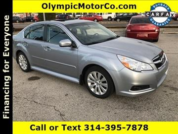 2012 Subaru Legacy for sale at OLYMPIC MOTOR CO in Florissant MO
