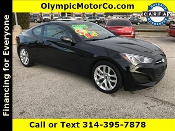 2013 Hyundai Genesis Coupe for sale at OLYMPIC MOTOR CO in Florissant MO