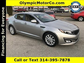 2014 Kia Optima for sale at OLYMPIC MOTOR CO in Florissant MO