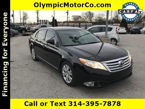 2011 Toyota Avalon for sale at OLYMPIC MOTOR CO in Florissant MO