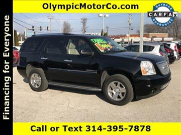 2008 GMC Yukon for sale at OLYMPIC MOTOR CO in Florissant MO