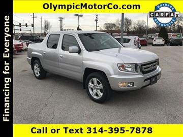 2011 Honda Ridgeline for sale at OLYMPIC MOTOR CO in Florissant MO