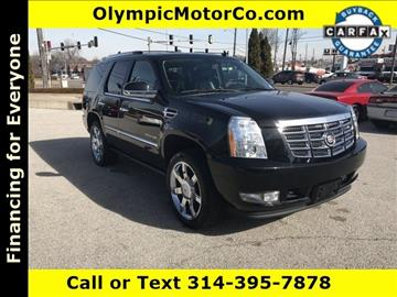 2010 Cadillac Escalade for sale at OLYMPIC MOTOR CO in Florissant MO