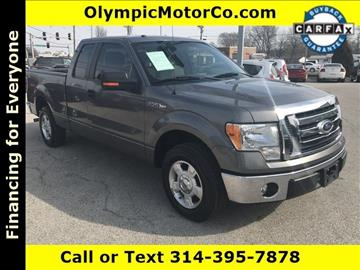 2010 Ford F-150 for sale at OLYMPIC MOTOR CO in Florissant MO