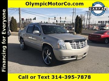 2007 Cadillac Escalade EXT for sale at OLYMPIC MOTOR CO in Florissant MO