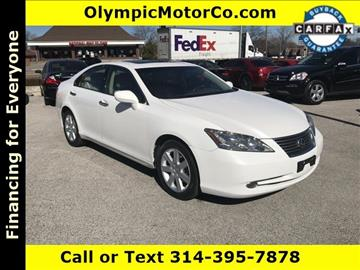 2008 Lexus ES 350 for sale at OLYMPIC MOTOR CO in Florissant MO
