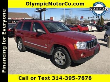 2005 Jeep Grand Cherokee for sale at OLYMPIC MOTOR CO in Florissant MO