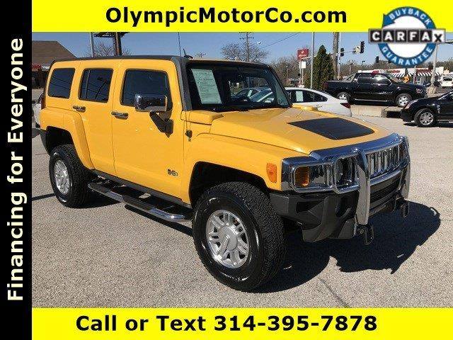 2007 HUMMER H3 for sale at OLYMPIC MOTOR CO in Florissant MO