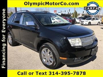 2007 Lincoln MKX for sale at OLYMPIC MOTOR CO in Florissant MO