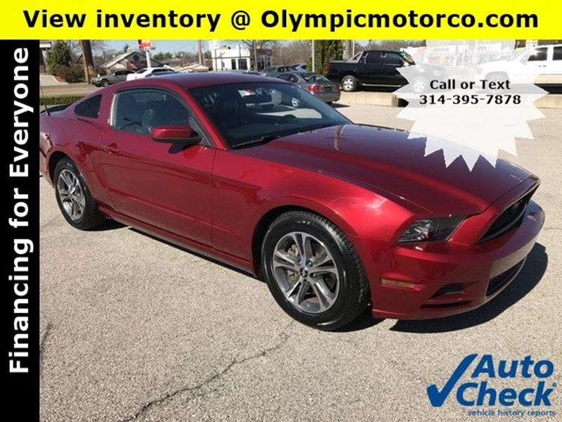 2014 Ford Mustang In Florissant Mo Olympic Motor Co