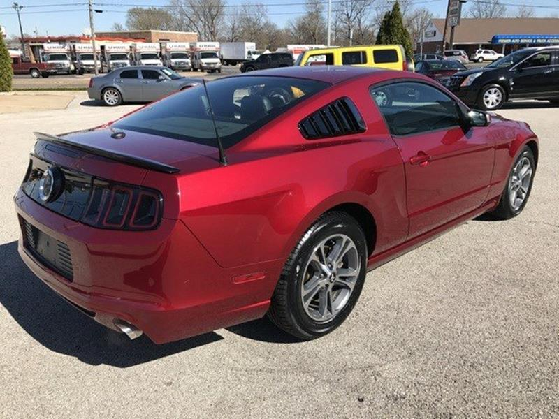 2014 Ford Mustang for sale at OLYMPIC MOTOR CO in Florissant MO