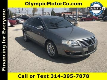 2008 Volkswagen Passat for sale at OLYMPIC MOTOR CO in Florissant MO