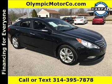 2011 Hyundai Sonata for sale at OLYMPIC MOTOR CO in Florissant MO