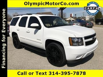 2008 Chevrolet Tahoe for sale at OLYMPIC MOTOR CO in Florissant MO