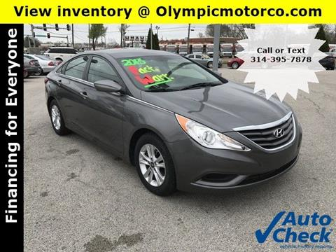 2013 Hyundai Sonata for sale at OLYMPIC MOTOR CO in Florissant MO
