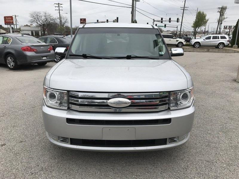 2012 Ford Flex for sale at OLYMPIC MOTOR CO in Florissant MO