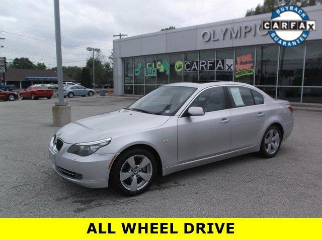 2008 BMW 5 Series for sale at OLYMPIC MOTOR CO in Florissant MO