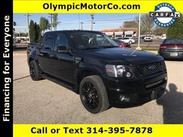 2009 Ford Explorer Sport Trac for sale at OLYMPIC MOTOR CO in Florissant MO