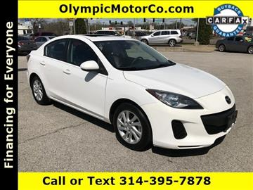 2012 Mazda MAZDA3 for sale at OLYMPIC MOTOR CO in Florissant MO